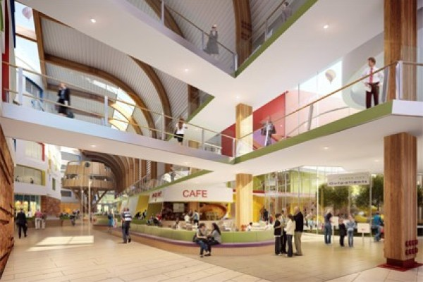 Building a new children's hospital – from world class to world first